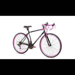 Women's bike pink/black